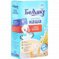 Каша молочная «Беллакт» 5 злаков 250 г.