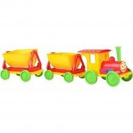Игрушка «Поезд с двумя прицепами» 013118/3.