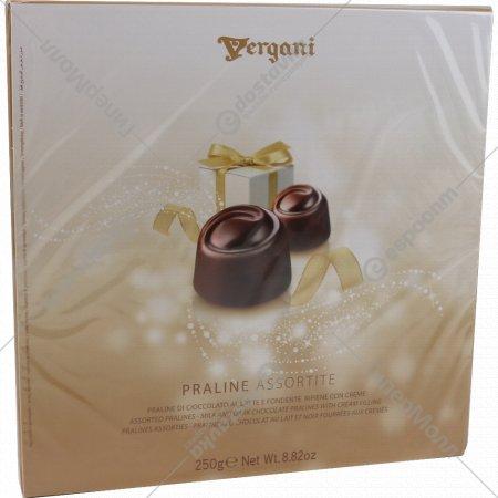 Пралиновые конфеты «Ассорти Roxy» с кремовой начинкой, 250 г.