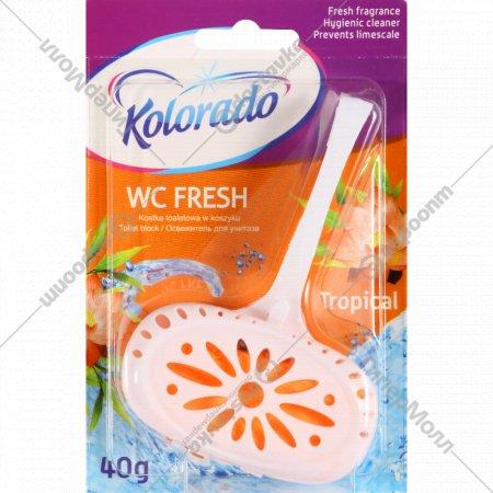 Туалетный брусок «Kolorado» WC Fresh тропический, 40 г.