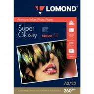 Бумага для фотопечати «Lomond» 20 листов, 1103130