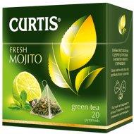 Чай зелёный «Curtis» свежий мохито, 20 пакетиков.