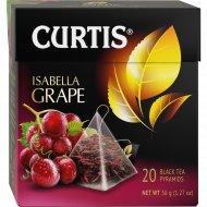 Чай чёрный «Сurtis» виноград, 20 пакетиков.
