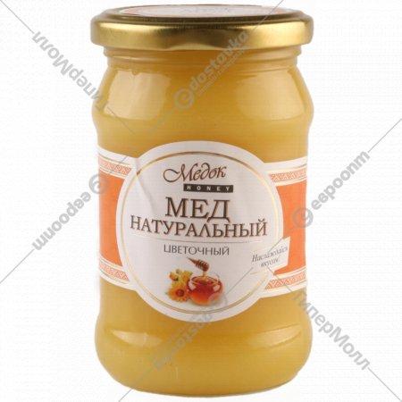 Мёд натуральный цветочный «Медок» 440 г.