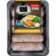 Колбаски из мяса цыплят-бройлеров «Оригинальные» охлажденные, 600 г.
