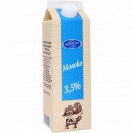 Молоко питьевое «Молочный мир» пастеризованное 3.5 %, 1 л.
