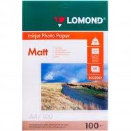 Бумага для фотопечати «Lomond» 100 листов, 102002