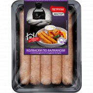 Колбаски из мяса цыплят-бройлеров «По-балкански» охлажденные, 600 г.