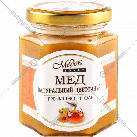 Мёд натуральный «Медок» Гречишное поле, 250 г.