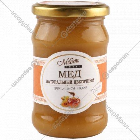 Мёд натуральный «Медок»гречишное поле, 440 г.