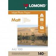 Бумага для фотопечати «Lomond» 100 листов, 102074