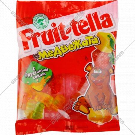 Жевательный мармелад «Fruittella» медвежата, 70 г.