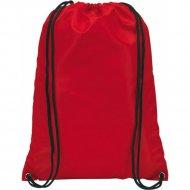 Мешок для обуви «Action» красный, 43х35 см.