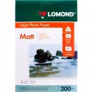 Бумага для фотопечати «Lomond» 50 листов, 102033
