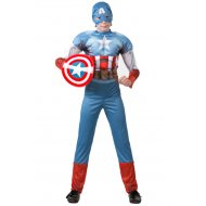 Костюм «Капитан Америка» размер 34-128.