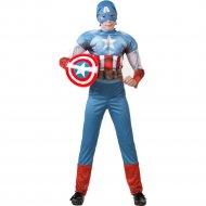 Костюм «Капитан Америка» размер 32-122.