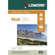 Бумага для фотопечати «Lomond» 100 листов, 102125