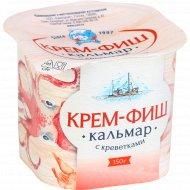 Паста рыбная «Крем-Фиш» кальмар-креветка, 150 г.