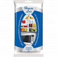 Салфетки влажные «House Lux» для холодильников и СВЧ №30.