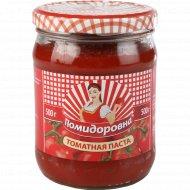 Паста томатная «Помидоровна» несоленая 25%, 500 г.