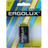 Элемент питания «Ergolux» 6LR61 BL-1.9B.