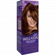 Крем-краска для волос «Wellaton» интенсивная, какао, тон 5.77.