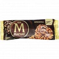 Мороженое «Магнат брюнетка» шоколадное с грецким орехом, 74 г.