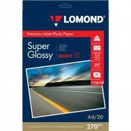Бумага для фотопечати «Lomond» 20 листов, 1106100