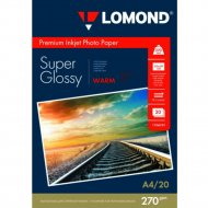 Бумага для фотопечати «Lomond» 20 листов, 1106101