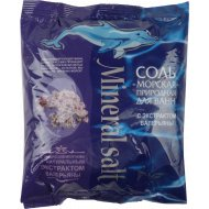 Соль для ванн «Морская» с натуральным экстрактом валерианы, 1000 г.