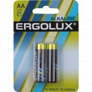 Элементы питания «Ergolux» LR6 BL-2, 2 шт.