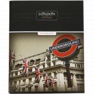 Тетрадь «Лондон» 96 листов, А5.