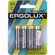 Элемент питания «Ergolux» LR6 BL-4, 1.5В.