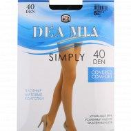 Колготки женские «Dea Mia» Simply, 40 Den, Black.