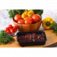 Полуфабрикат из субпродуктов «Стейк из говяжьей печени» 1/500 .