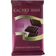 Шоколад темный «Kim's» 53%, 300 г.