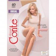 Колготки женские «Conte» Ideal, 40 den, размер 2, bronz