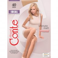 Колготки женские «Conte» Ideal, 40 den, размер 4, bronz
