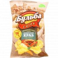 Чипсы картофельные «Бульба Chips» заморский краб, 150 г.