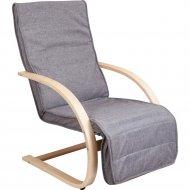 Кресло «AksHome» Grand, ткань, серый