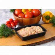 Фаршевая масса для котлет из свинины с овощами, замороженная, 500 г.