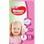 Детские подгузники «Huggies» Ultra Comfort, размер 5, 12-22 кг, 15 шт.