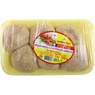 Котлета «Смачная люкс» из мяса птицы, замороженная, 6 шт, 420 г.
