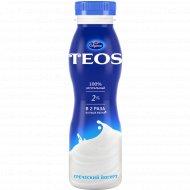 Йогурт греческий «Teos» натуральный, 2%, 300 г.
