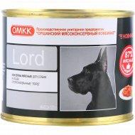 Корм для собак и кошек «Лорд» стерилизованный, 525 г.