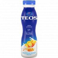 Йогурт греческий «Teos» вишня-гранат, 1.8%, 300 г