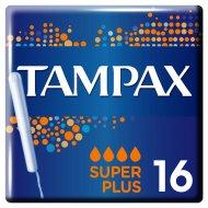 Тампоны женские «Tampax» Super Plus с аппликатором, 16 шт.