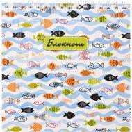 Блокнот «Рыбки» 60 листов