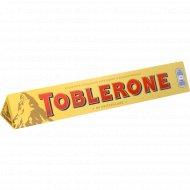 Шоколад «Toblerone» молочный с медово-миндальной нугой 10 %, 100 г.