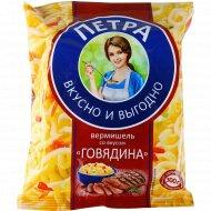 Вермишель «Петра» со вкусом говядины, 50 г.